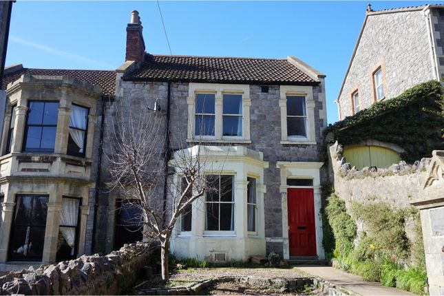 Thumbnail End terrace house for sale in Ashcombe Park Road, Weston-Super-Mare