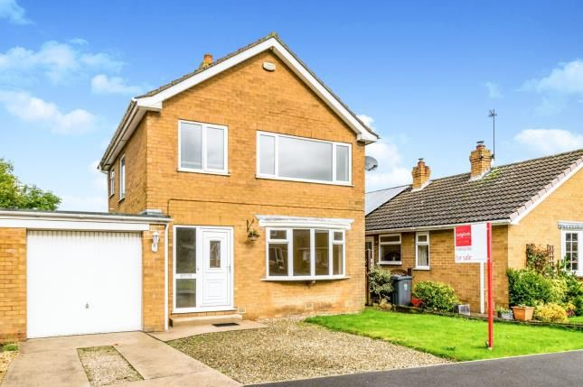 Thumbnail 3 bed detached house for sale in Maythorpe, Rufforth, York, North Yorkshire
