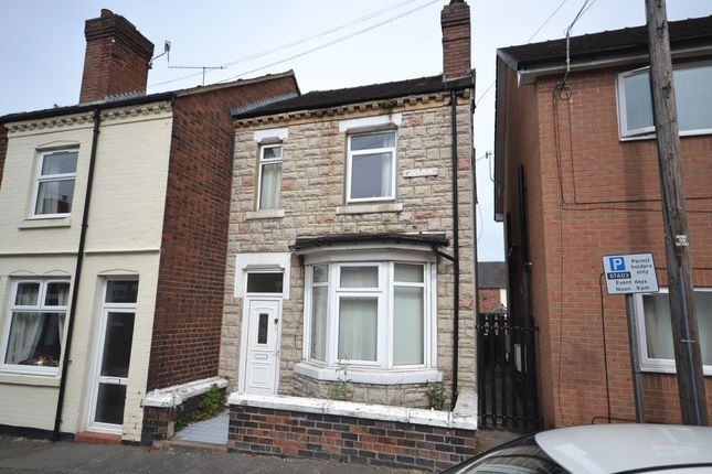 Thumbnail End terrace house to rent in Holly Place, Heron Cross, Stoke-On-Trent