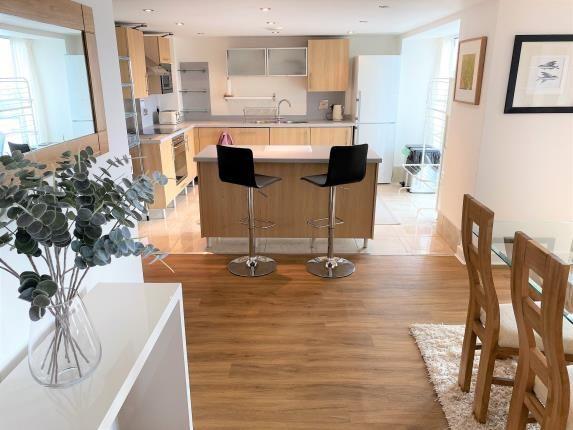 Kitchen of City Wharf, Atlantic Wharf, Cardiff Bay, Cardiff CF10