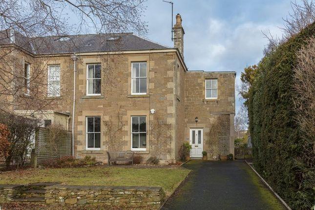 Thumbnail Semi-detached house for sale in Ormiston Terrace, Melrose