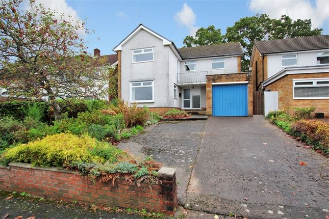 Thumbnail Detached house for sale in Pennant Crescent, Lakeside, Cardiff