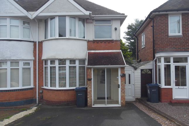 Thumbnail Semi-detached house to rent in Ryde Park Road, Rednal, Birmingham
