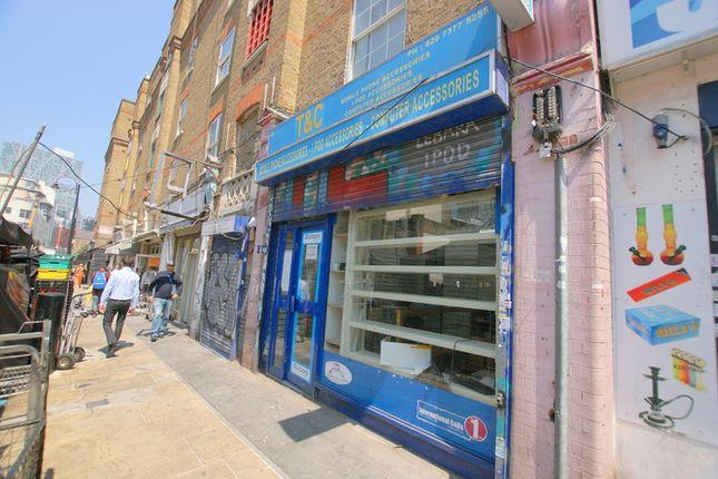 Thumbnail Retail premises to let in Goulston Street, London
