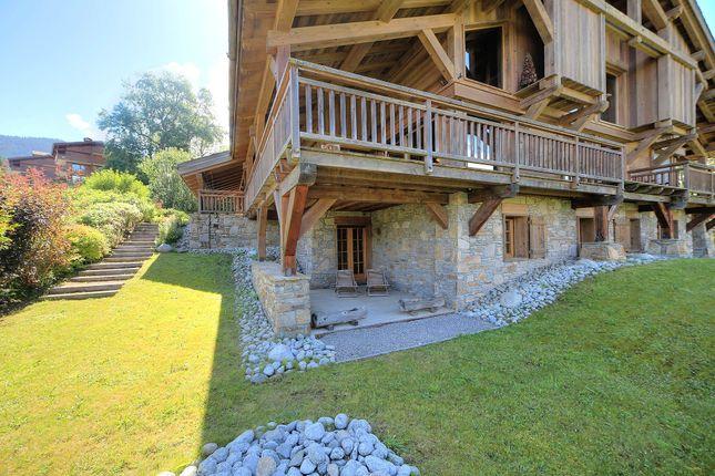 Exterior of Megeve, Rhones Alps, France