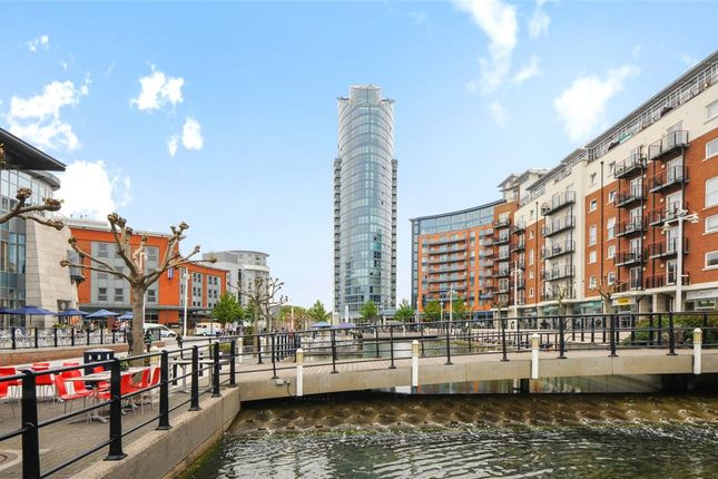 Thumbnail Flat for sale in No.1 Building, Gunwharf Quays, Hampshire