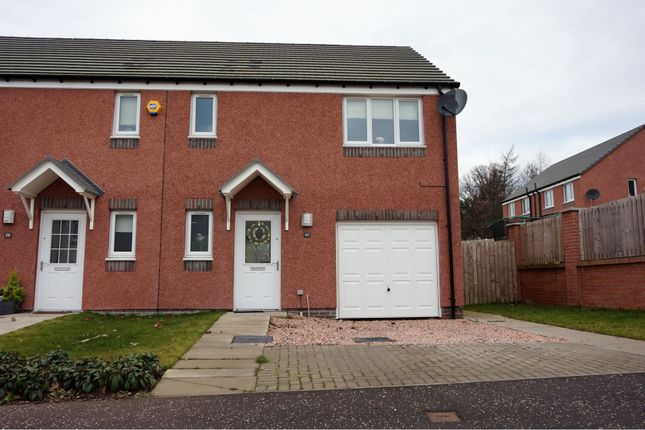 Thumbnail 3 bed semi-detached house for sale in Kirkstead Drive, Dundee