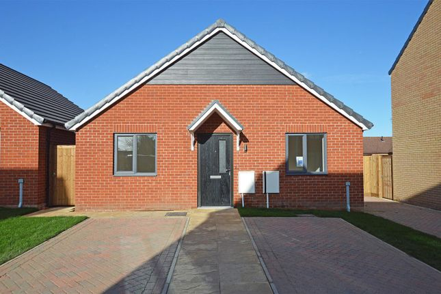Thumbnail Detached bungalow for sale in Spire View, Whittlesey, Peterborough
