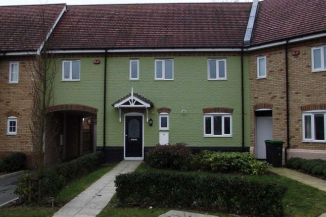Thumbnail Mews house to rent in Flax Close, Oakley, Bedford