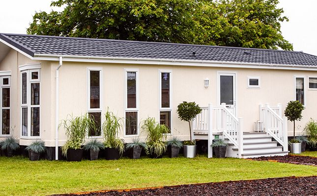 Thumbnail Mobile Park Home For Sale In St Austell Cornwall