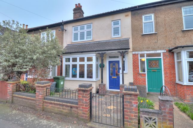3 bed terraced house for sale in Princes Road, Gidea Park, Romford RM1