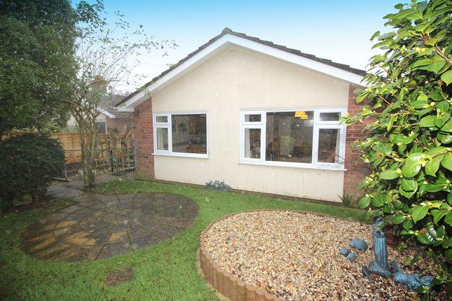 Thumbnail Detached bungalow for sale in Gravelfield Close, Norwich