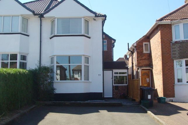 Thumbnail Semi-detached house for sale in Durley Dean Road, Selly Oak