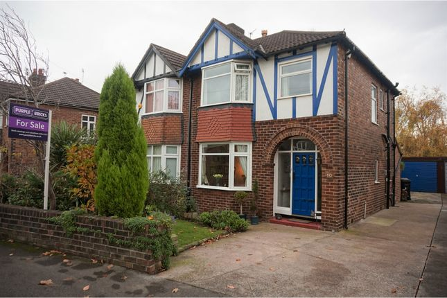 Thumbnail Semi-detached house for sale in Northcliffe Road, Offerton