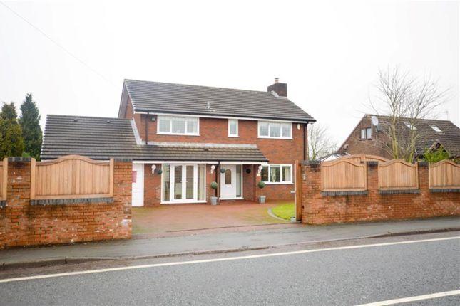 Thumbnail Detached house to rent in Newton Road, Lowton, Warrington