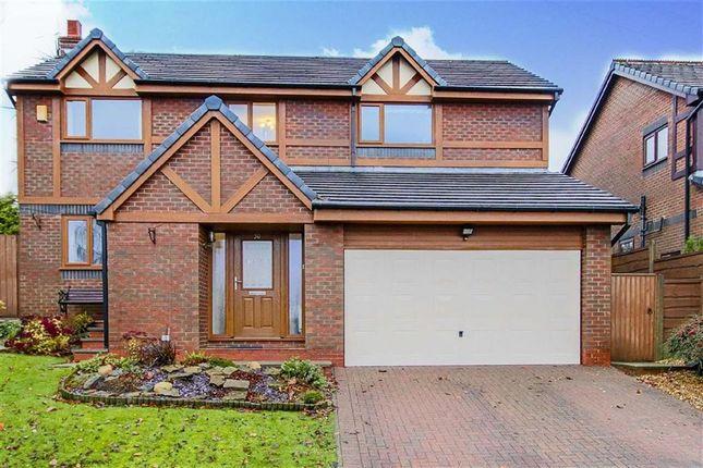 Thumbnail Detached house for sale in Moorland Rise, Haslingden, Lancashire
