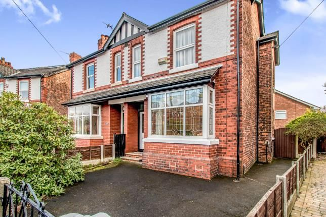 Thumbnail Semi-detached house for sale in Mornington Road, Sale, Greater Manchester
