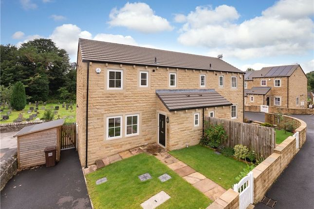 Thumbnail Semi-detached house for sale in Town Head Rise, Settle, North Yorkshire