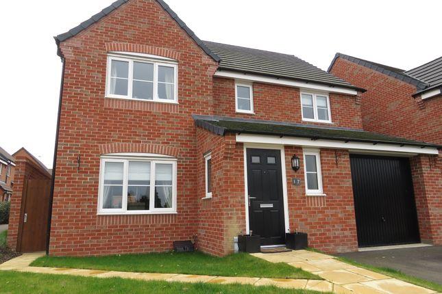 Thumbnail Detached house for sale in Monk Close, Market Harborough