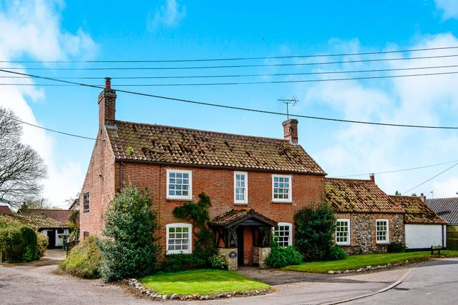 Thumbnail Detached house for sale in Main Road, Crimplesham, King's Lynn