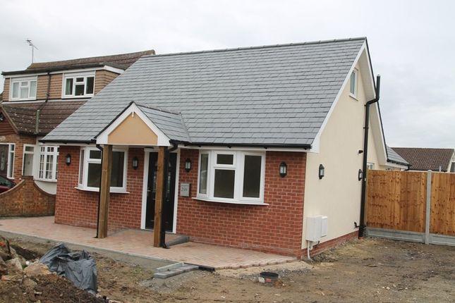 Thumbnail Detached bungalow for sale in Pound Lane, Pitsea, Basildon
