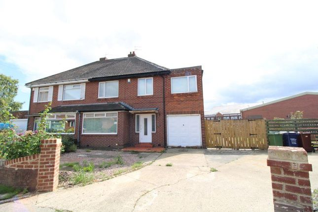 Thumbnail Semi-detached house for sale in Tudor Wynd, North Heaton, Newcastle Upon Tyne