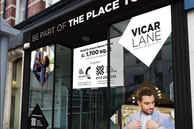 Thumbnail Leisure/hospitality to let in 80 Vicar Lane, Leeds, West Yorkshire