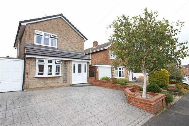 Thumbnail Detached house for sale in Kedleston Close, Allestree, Derby