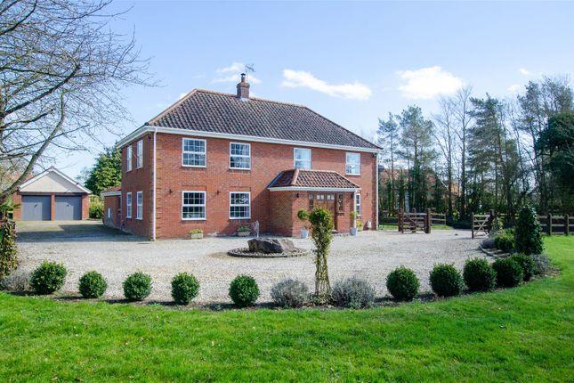 Thumbnail Detached house for sale in Foulsham, Near Reepham