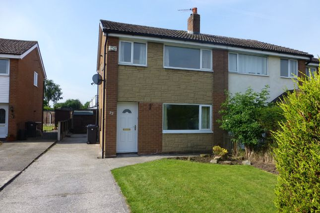 Thumbnail Semi-detached house to rent in Sumpter Croft, Penwortham, Preston