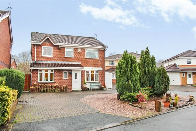 Thumbnail Detached house for sale in Garwood Close, Westbrook, Warrington, Cheshire