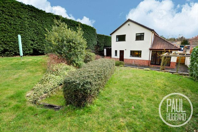 Thumbnail Detached house for sale in Hall Road, Oulton Broad, Lowestoft