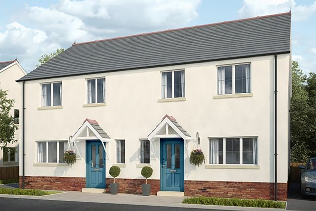 Thumbnail Semi-detached house for sale in Plot 17 Maes Y Llewod, Bancyfelin, Carmarthen, Carmarthenshire