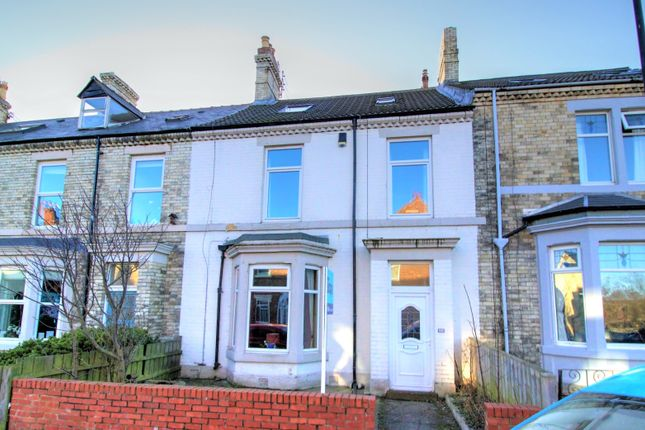 5 bed terraced house for sale in Delaval Road, Whitley Bay NE26