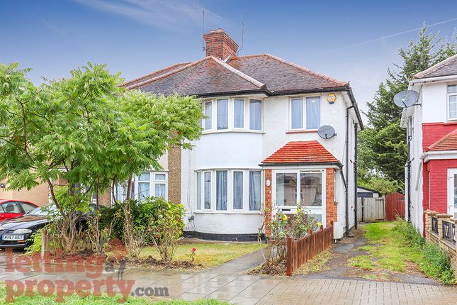 Thumbnail Semi-detached house to rent in Twyford Road, Harrow