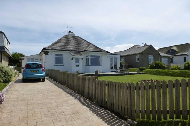 Thumbnail Detached bungalow to rent in Marine Drive, Widemouth Bay, Bude, Cornwall