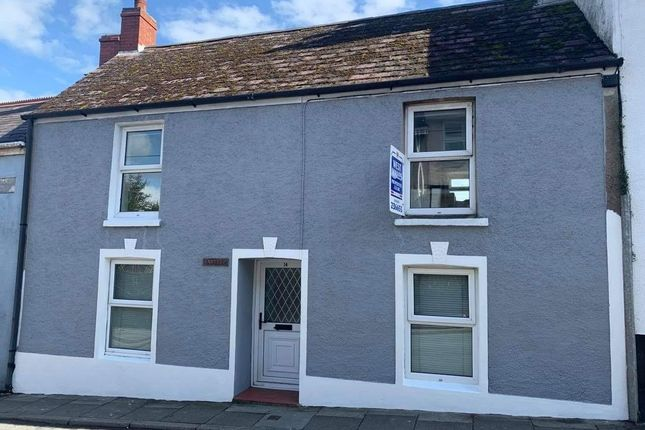 2 bed terraced house for sale in Gosport Street, Laugharne, Carmarthen SA33