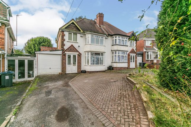 Thumbnail Semi-detached house for sale in Barrows Lane, Sheldon, Birmingham