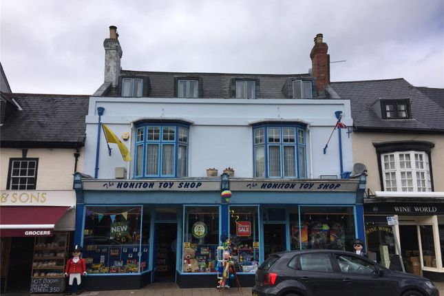 Thumbnail Retail premises for sale in High Street, Honiton, Devon