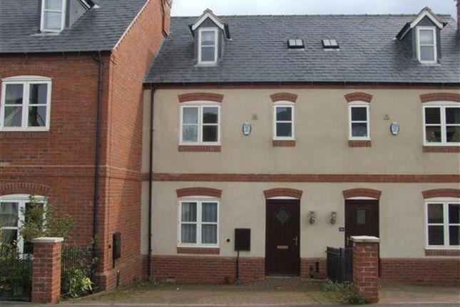Thumbnail Town house to rent in Bond Lane, Mountsorrel, Loughborough