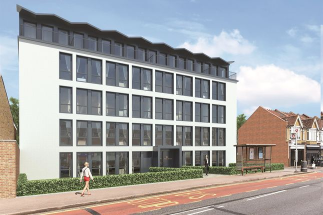 Thumbnail Flat for sale in Burlington Road, New Malden