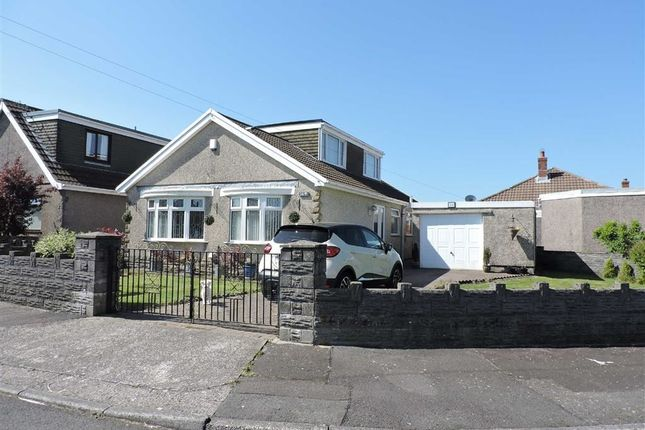 Thumbnail Detached bungalow for sale in Ullswater Crescent, Morriston, Swansea