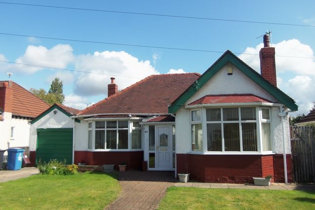 Thumbnail Detached bungalow to rent in Charlton Court, Boundary Drive, Woolton, Liverpool