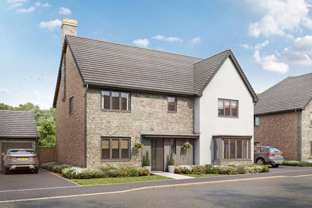 Thumbnail Detached house for sale in The Adderbury, Plot 154, Lakeview, Colwell Green, Witney, Oxon