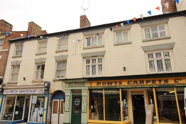 Thumbnail Flat to rent in Flat 2, 16/17, Berriew Street, Welshpool, Welshpool, Powys