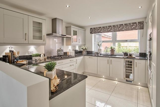 "Thumbnail Detached house for sale in ""Avondale"" at Stanneylands Road, Wilmslow"