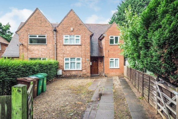 Thumbnail Semi-detached house to rent in Woodside Road, Nottingham