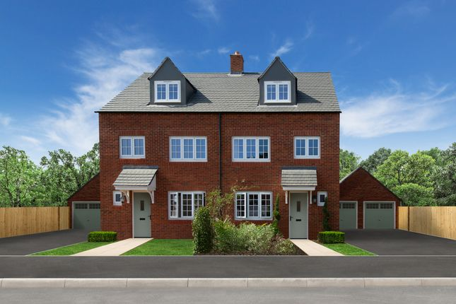 Thumbnail Semi-detached house for sale in Eaton Green Heights, Kimpton Road, Luton