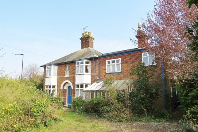 Thumbnail Semi-detached house for sale in West Road, Bury St. Edmunds