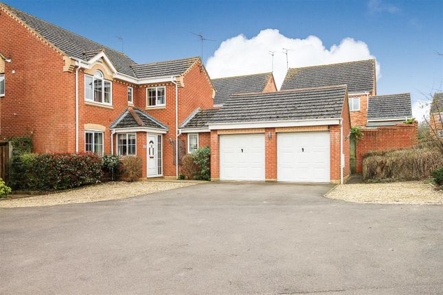 Thumbnail Detached house for sale in Edgehill Drive, Lang Farm, Daventry